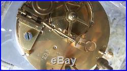 Exceptionnel pendule en cristal de baccarat et bronze Napoleon III