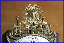Exceptionnelle Comtoise Six Cloches 30 Jours A Finir De Restaurer