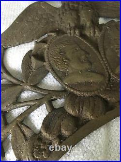 Fronton de comtoise très rare dans sont jus. HG4