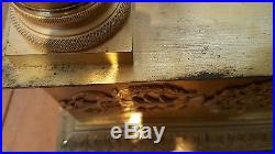 GÉANT 71cm Régulateur Bronze doré Premier empire SPECTACULAIRE CLOCK PENDULE