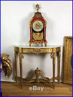Grand Cartel Ancien Style Boulle De 90cm De Haut