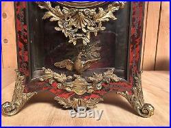 Grand cartel Napoléon III / Cartel a poser /Horloge ancienne / Pendule