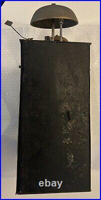 Grand mouvement d'horloge Comtoise coq 3 cloches à restaurer
