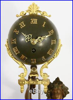 Grande Pendule mystérieuse Balancier universel Parfait état. Vers 1880