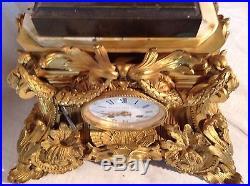 Grande pendule en bronze epoque Napoleon III