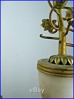 Grande pendule portique style Louis 16, 59 cm