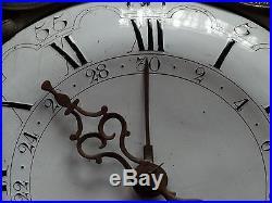 Gros mouvement d'horloge époque révolutionnaire calendrier 30 jours. (B08)