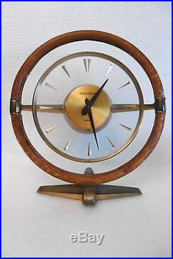 Hermes. Jaeger Lecoultre. Belle Et Grande Pendulette Volant Vers 1930