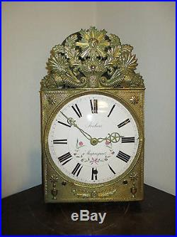Horloge Comtoise 5 Cloches