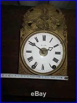 Horloge Comtoise De 17 CM