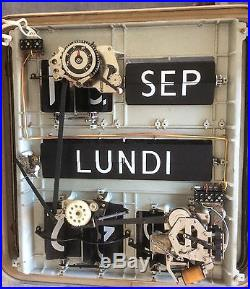 Horloge Pendule Solari Udine Dator 10
