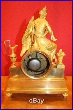 Hébé Et l'Aigle De Jupiter Pendule d'époque Empire