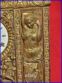 Hémon, Horloge en bronze époque EMPIRE XIX ème s