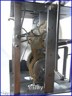 Horloge Cage Lanterne Capucine Turquet Comtoise Parquet Pendule 2 Marteau 18 Eme