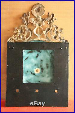 Horloge Comtoise 4 Cloches Rare Faisceau De Licteur Dans Le Medaillon