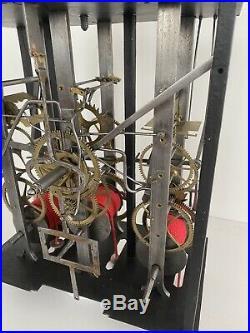Horloge Comtoise Échappement Chevalier De Béthune 5 Cloches Comtoise Uhr