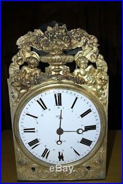 Horloge Comtoise Quatre Cloches