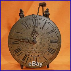 Horloge Lanterne Normande YOUF a VAUBADON Calvados Normandie Pendule Demoiselle