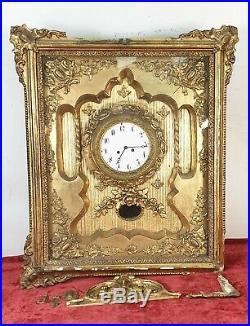 Horloge Murale. Seconde Empire Style. Machinerie De Paris. Xixème Siècle
