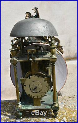 Horloge Pendule Comtoise Mouvement Lanterne