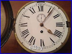 Horloge Pendule De Marine Ancienne
