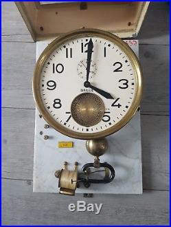 Horloge Pendule Mère Régulateur Industrielle Brillié