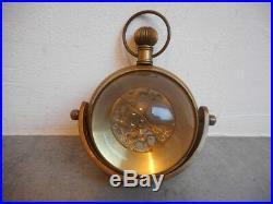 Horloge Pendule Montre Boule Marine Bureau