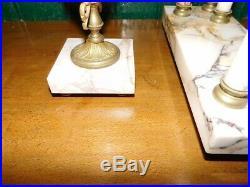 Horloge Pendule Style Louis XVI Marbre Rose N15