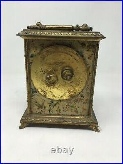 Horloge Pendule à Poser Carillon 1878 19 th Antique Clock