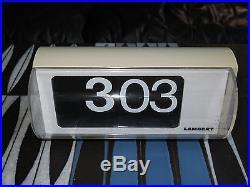 Horloge SOLARI UDINE modéle CIFRA 6 pour LAMBERT clock flip flap