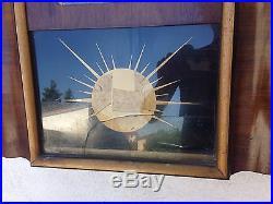 Horloge carillon Lora ODO 11 marteaux 10 tiges gros rouleau numéro 24 ART DECO