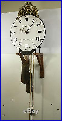 Horloge champenoise. 18ème