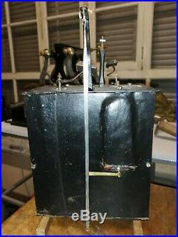 Horloge comtoise 1 aiguille 18,7 centimètres 18 eme sciècle mouvement