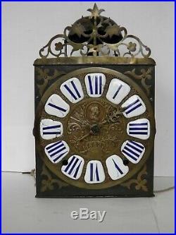 Horloge comtoise, 18 eme