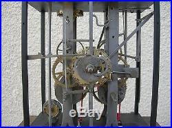 Horloge comtoise deux cloches