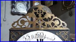 Horloge comtoise mensuel, XVIIIème, LOUIS XV, UHR, Clock, Reloj, Orologio