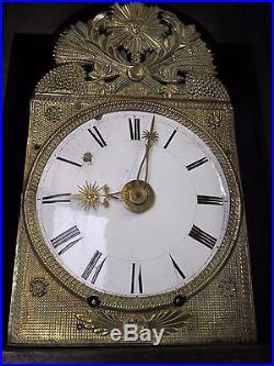 Horloge de parquet comtoise mouvement 1 mois