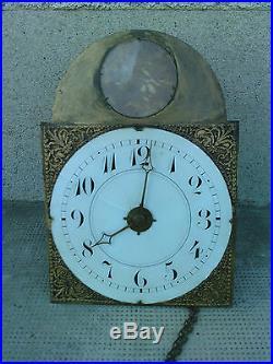 Horloge liegeoise sonnerie REVEIL murale clock uhr mini style comtoise