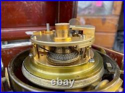 Horloge pendule Chronomètre de marine Ulysse Nardin a detente