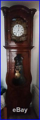 Horloge pendule comtoise watch mécanique ancien antique balancier