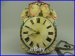 Horloge pendule forêt noire black forest clock orologio reloj uhr 19 thc