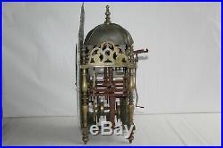 Horloge pendule lanterne Normande Pont Farcy, époque 18 ème siècle