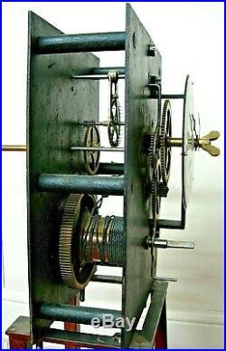 Horloge regulateur cheville édifice uhr clocher comtoise tower clock turmuhr