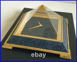Imposante Pendule Pyramide 8 Jrs Jaeger Lecoultre Impressive 8 Days Mantel Clock