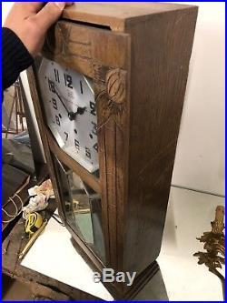 Kienzle 8 Tiges 8 Marteaux Pendule Horloge Westminster Carillon Odo