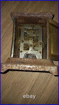 Lot Mecanismes Pendule A Restaurer Japy Officier Systeme Complication