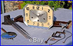 Mécanisme Carillon ODO n°24 Westminster Starco 8 marteaux 8 tiges Pendule
