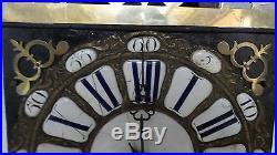 Mécanisme d'horloge Comtoise XVIIIème, galerie, UHR, clock, reloj