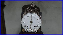 Mécanisme d'horloge Comtoise coq, XVIIIème, UHR, clock