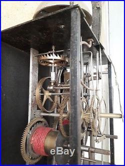 MOUVEMENT HORLOGE COMTOISE SOLEIL 18 è pendule 2 Marteaux French clock